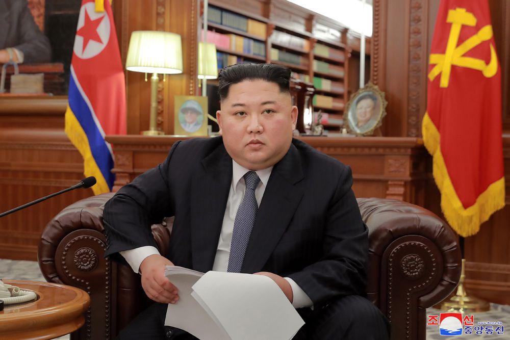 Kim Jong-un, le 1er janvier 2019