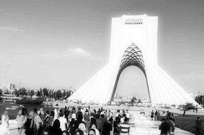 Téhéran la tour Azadi