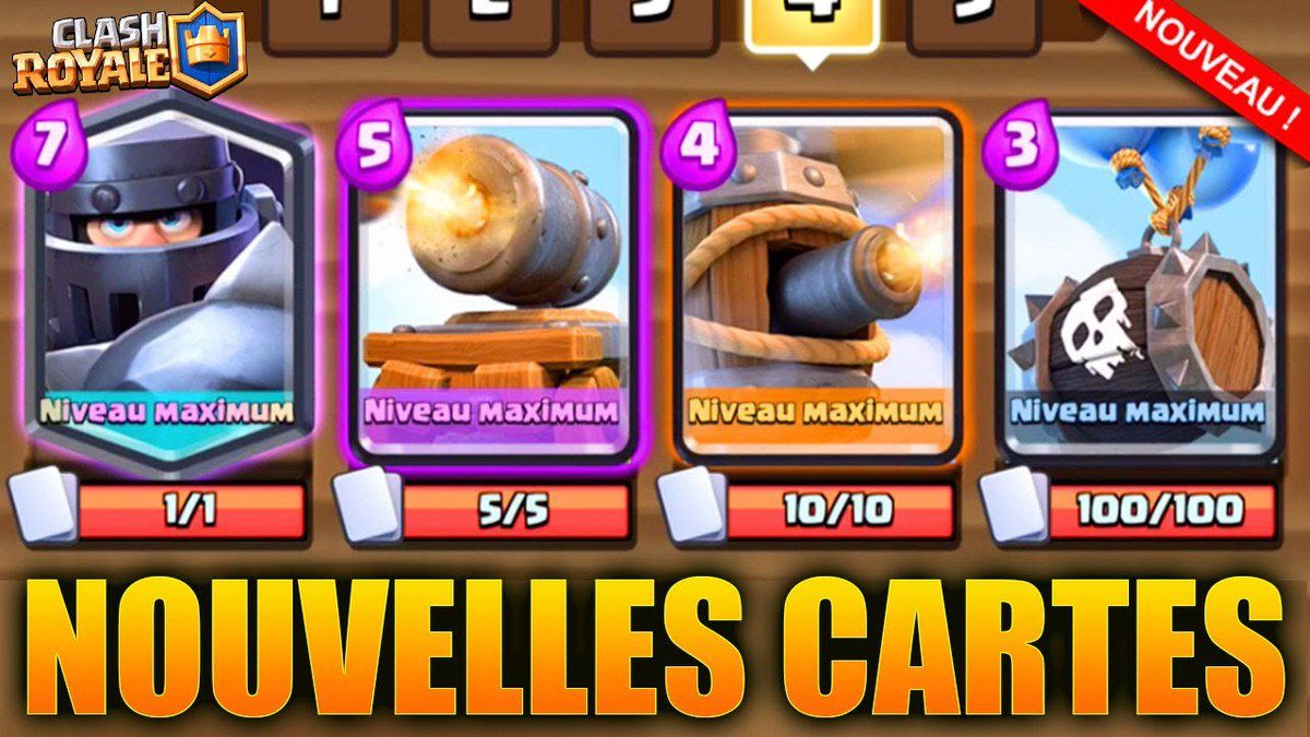 Clash Royale nouvelle carte Epique Charrette