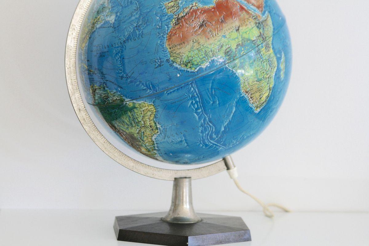 Globe Scan Globe Denmark  Années 70 - Vintage