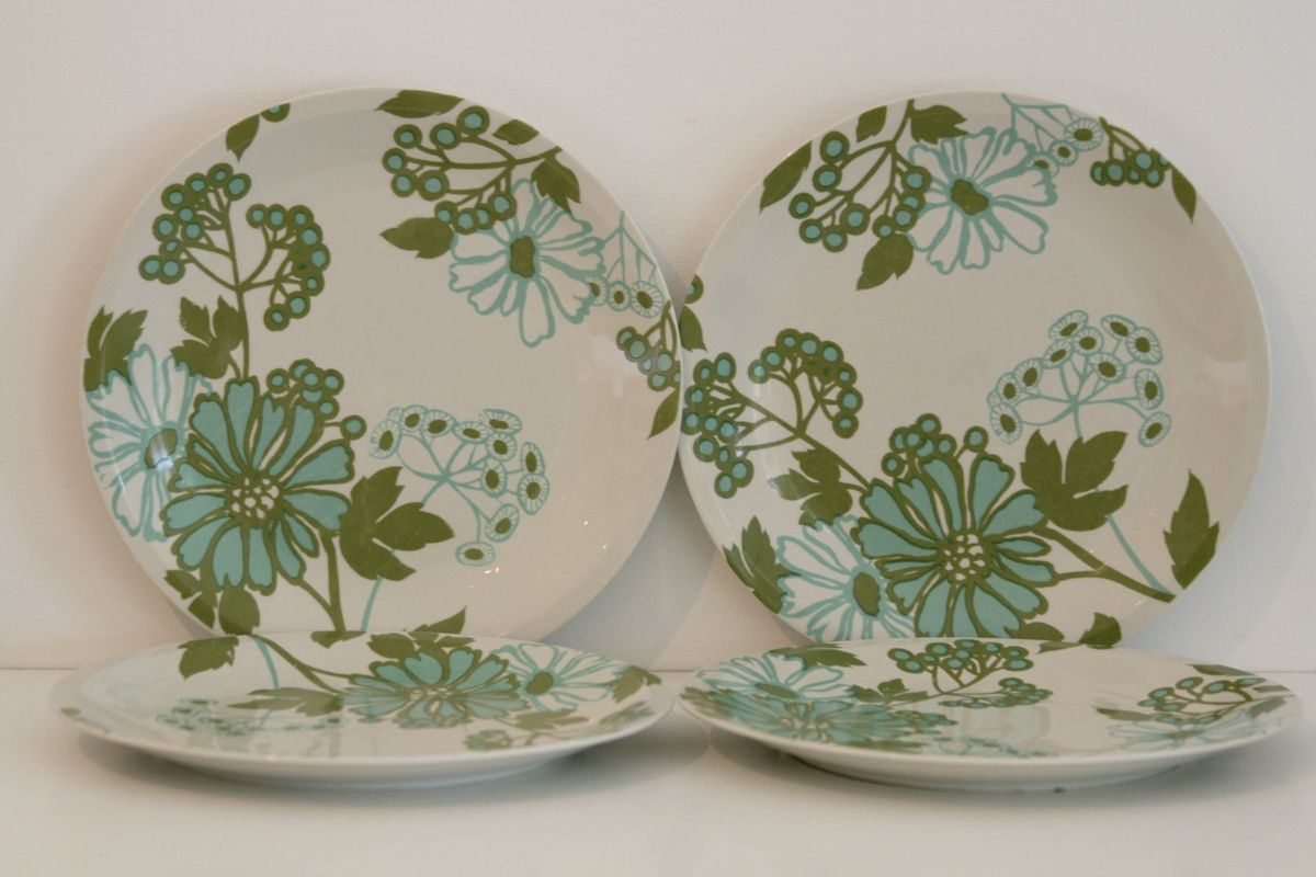 Assiettes Plates Villeroy et Boch Scarlett Vintage