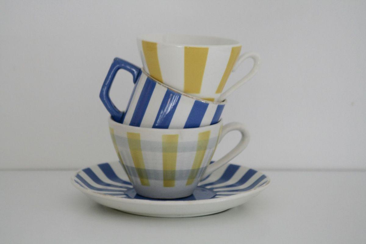 Tasse à café Sarreguemines Vintage