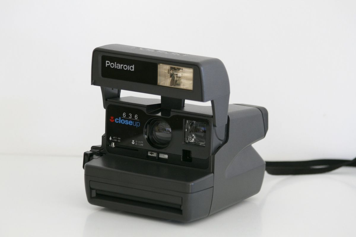 Appareil photo Polaroid 636 Closeup Vintage