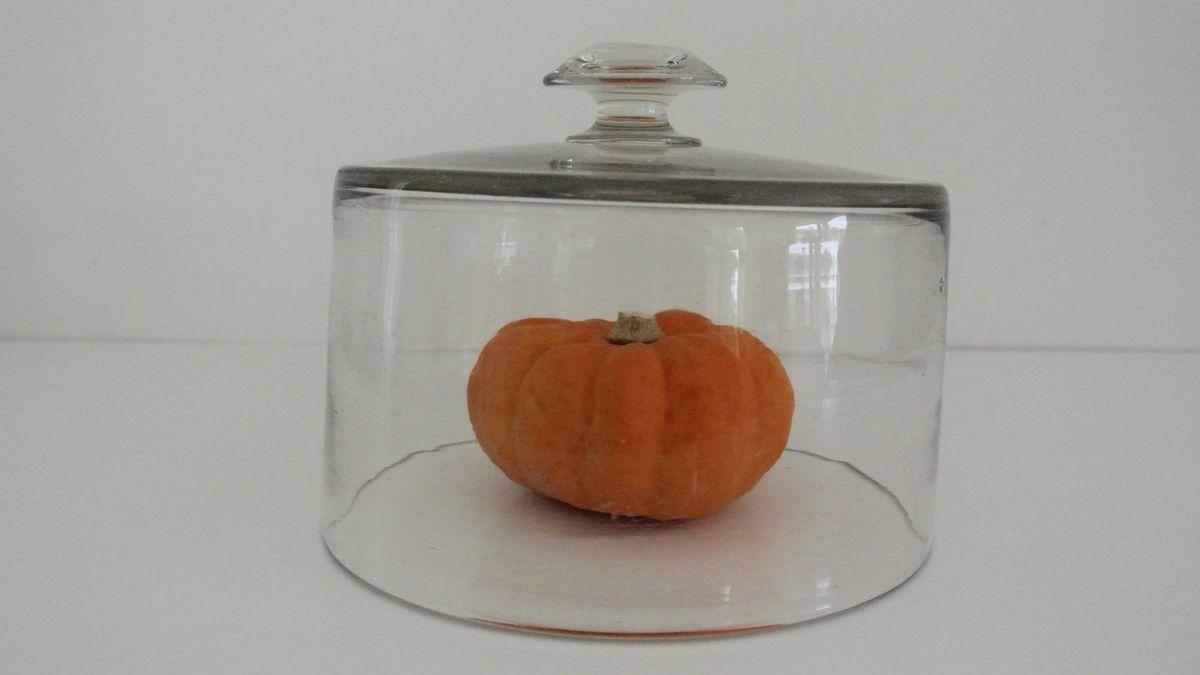 Petite cloche en verre ancienne Vintage