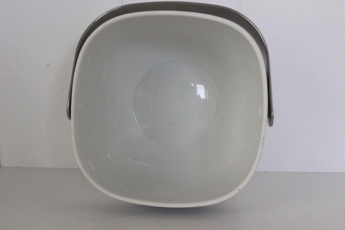 Seau à glaçons en porcelaine Rosenthal Décor bleu