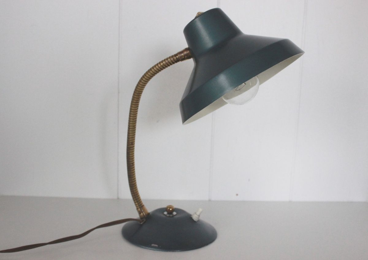 Petite Lampe verte Années 50 - Vintage