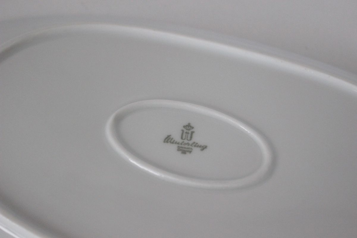 Plat en porcelaine Winterling Germany Années 70 - Vintage