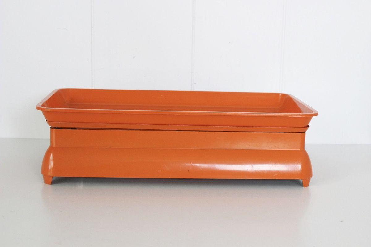 Balance Terraillon métal Orange Années 70 - Vintage