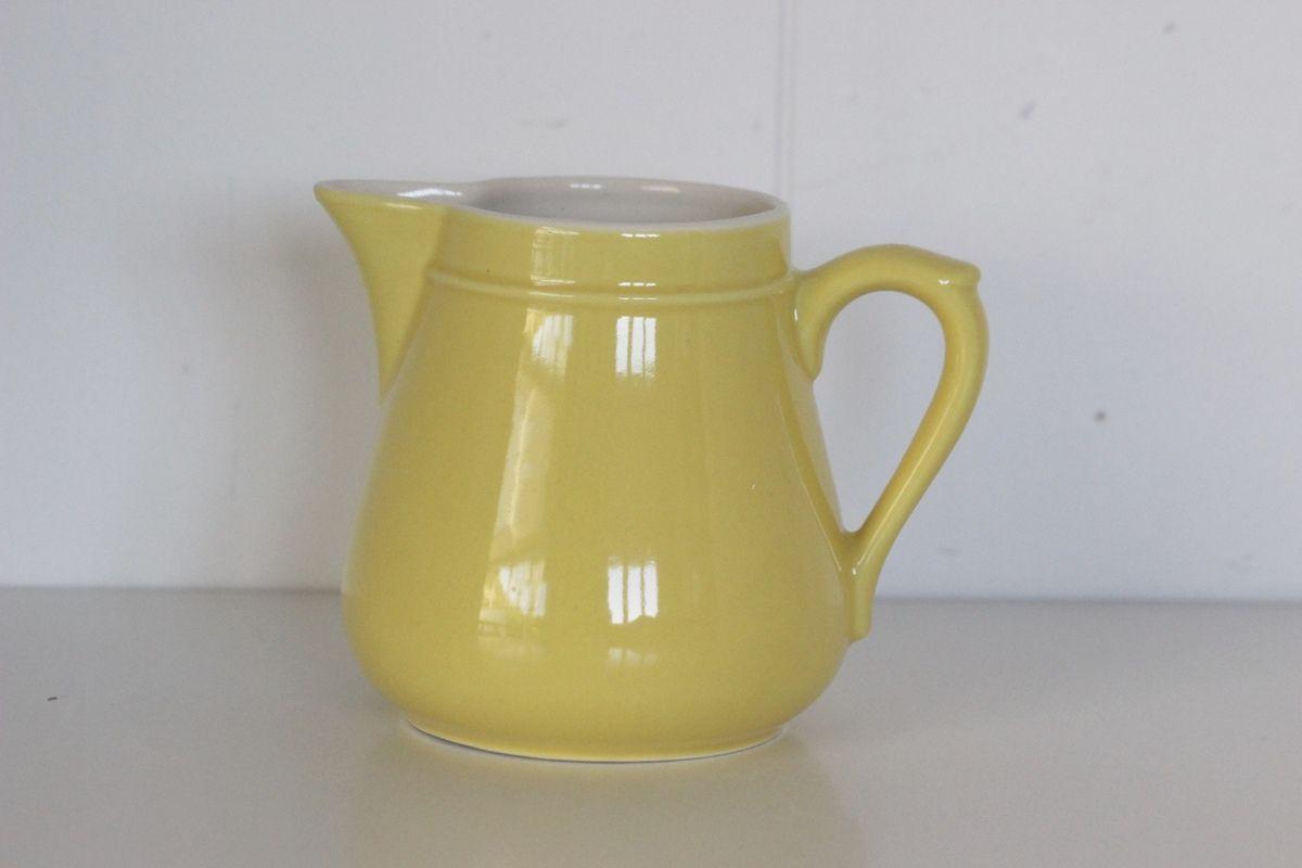 Pot à lait jaune Années 70 - Vintage