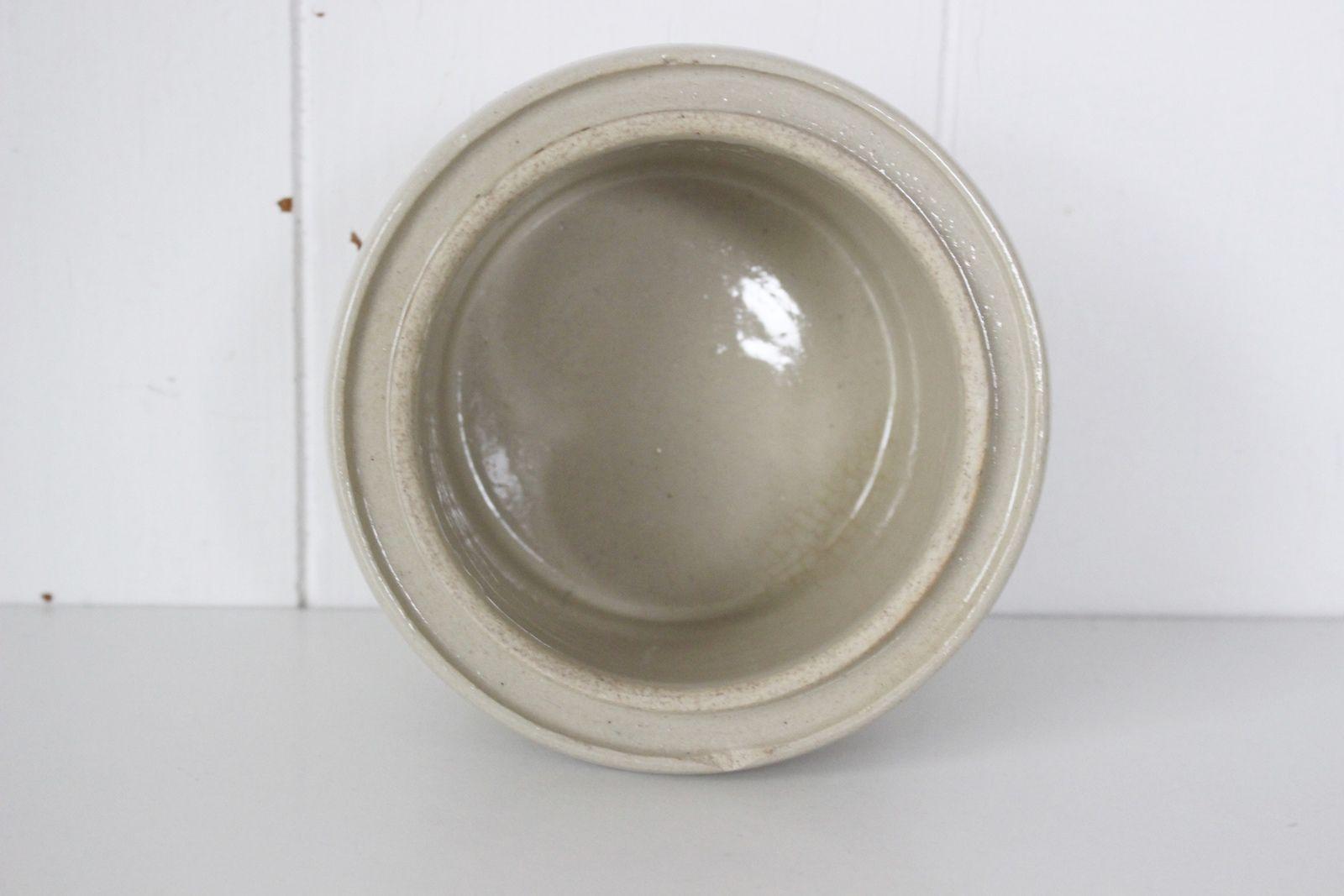 Pot ancien en grès La Conserve Vintage