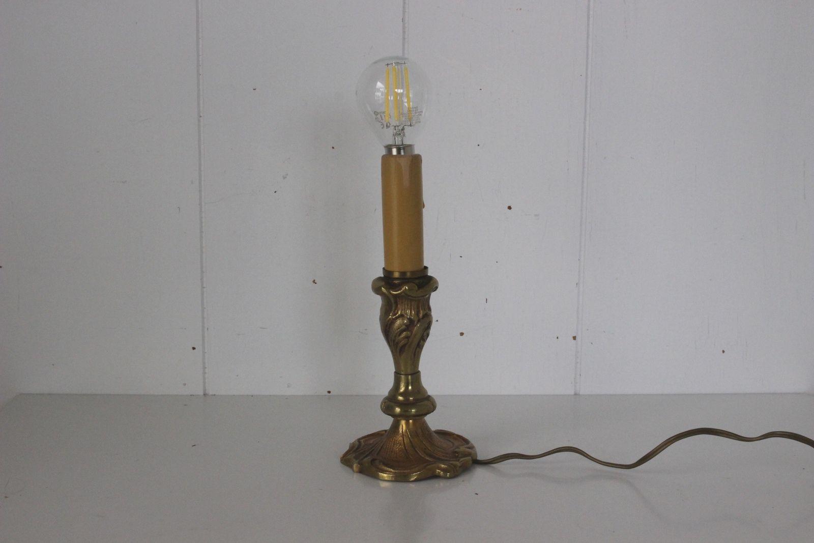 Petite lampe en laiton Années 70 - Vintage