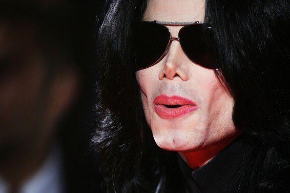 Michael Jackson en 2006.