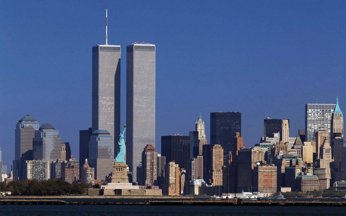 Les Tours jumelles dominaient fièrement toute la presqu'île de Manhattan