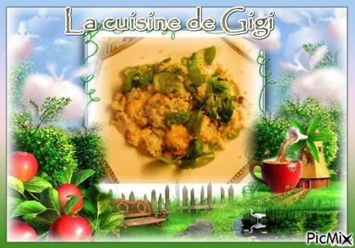 Salade de crevettes à l'huile d'orange de QUITOQUE