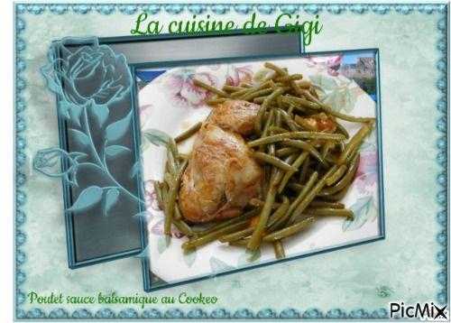 Poulet sauce balsamique au Cookeo