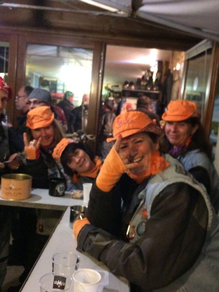 Sarlat rassemblement du moto club les Salamandres