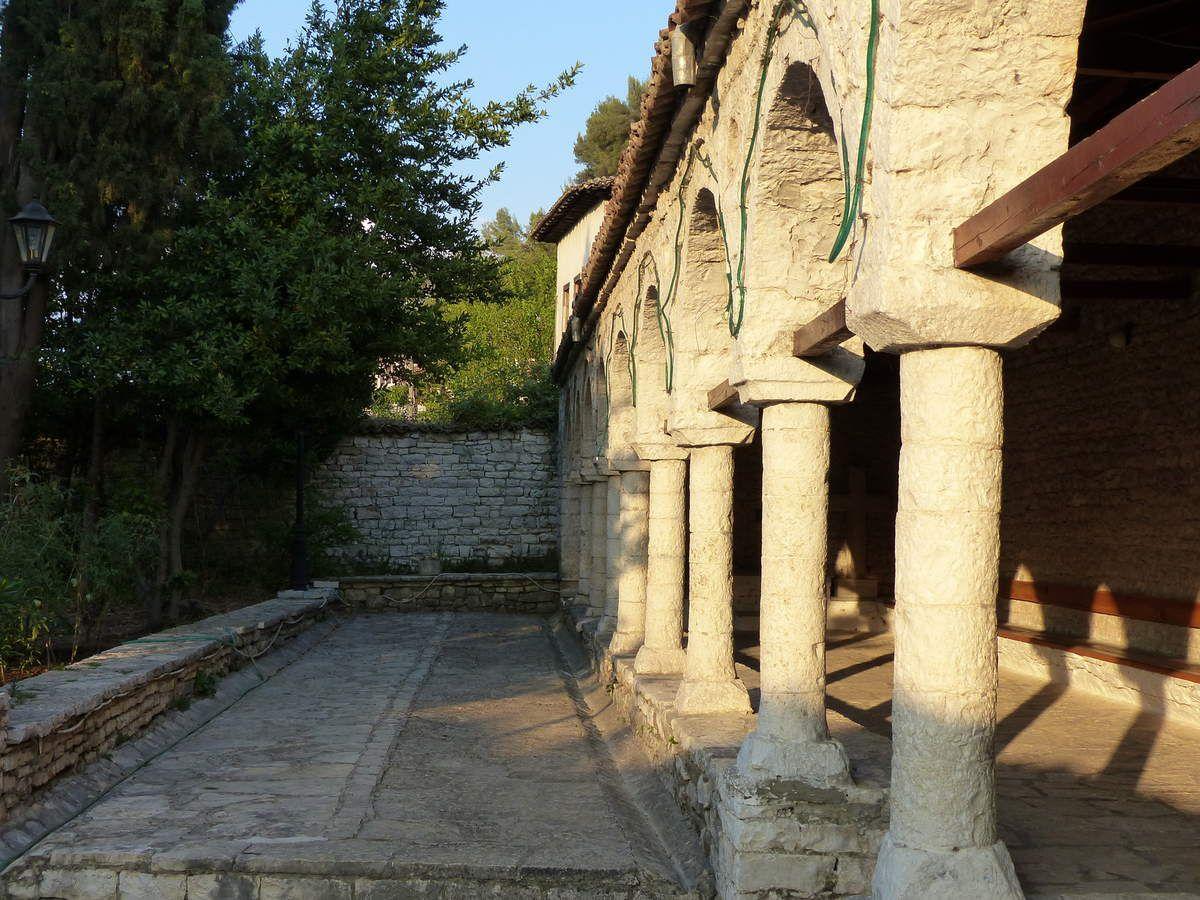 Gorica quartier de Berat rive gauche
