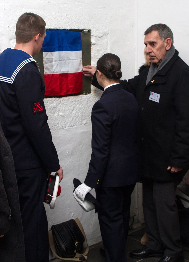 11 MARS 2015 - VISITE DES ÉLÈVES DE L'ÉCOLE DES MOUSSES AU MÉMORIAL NATIONAL DES MARINS MORTS POUR LA FRANCE - LES PHOTOGRAPHIES