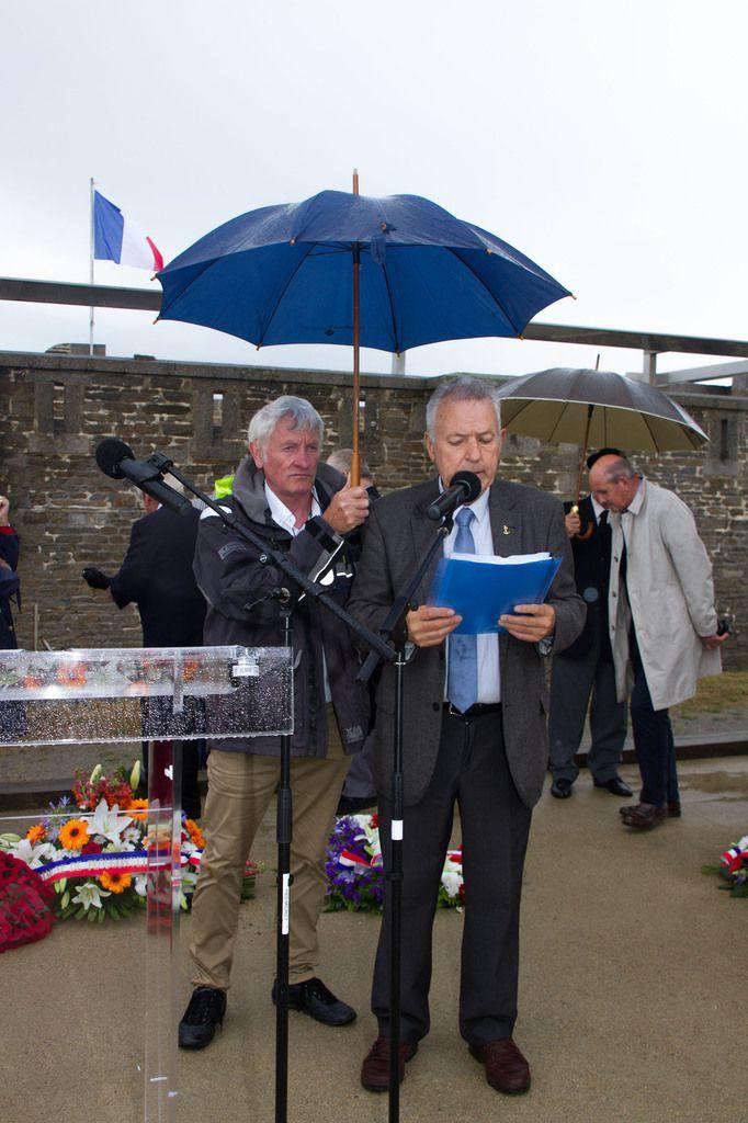 2 JUILLET 2015 - 75ème ANNIVERSAIRE DE LA TRAGÉDIE DE MERS EL KEBIR AU MÉMORIAL NATIONAL DES MARINS MORTS POUR LA FRANCE - LES PHOTOGRAPHIES