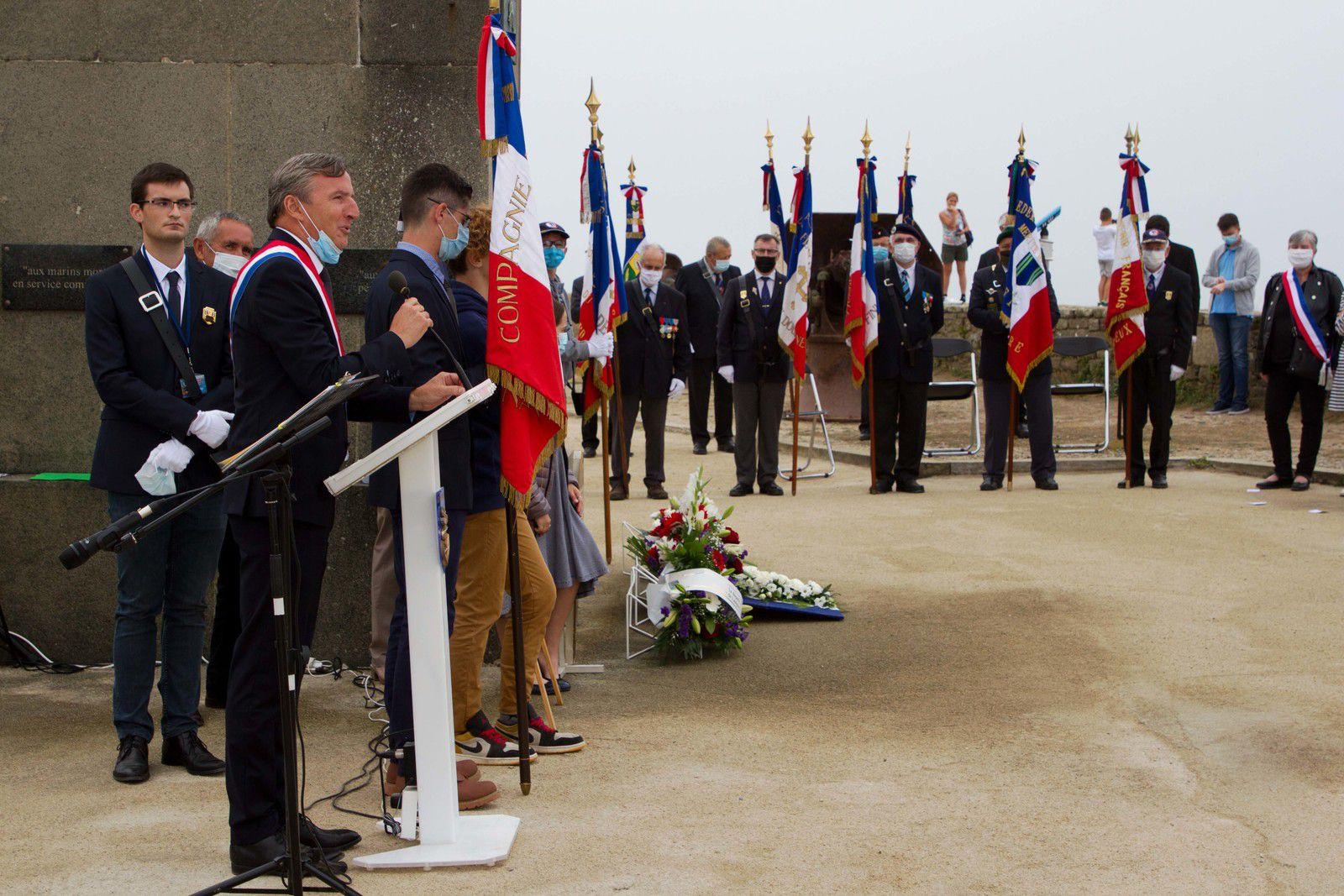 12 août 2020 - M. Didier Le Gac, député du Finistère
