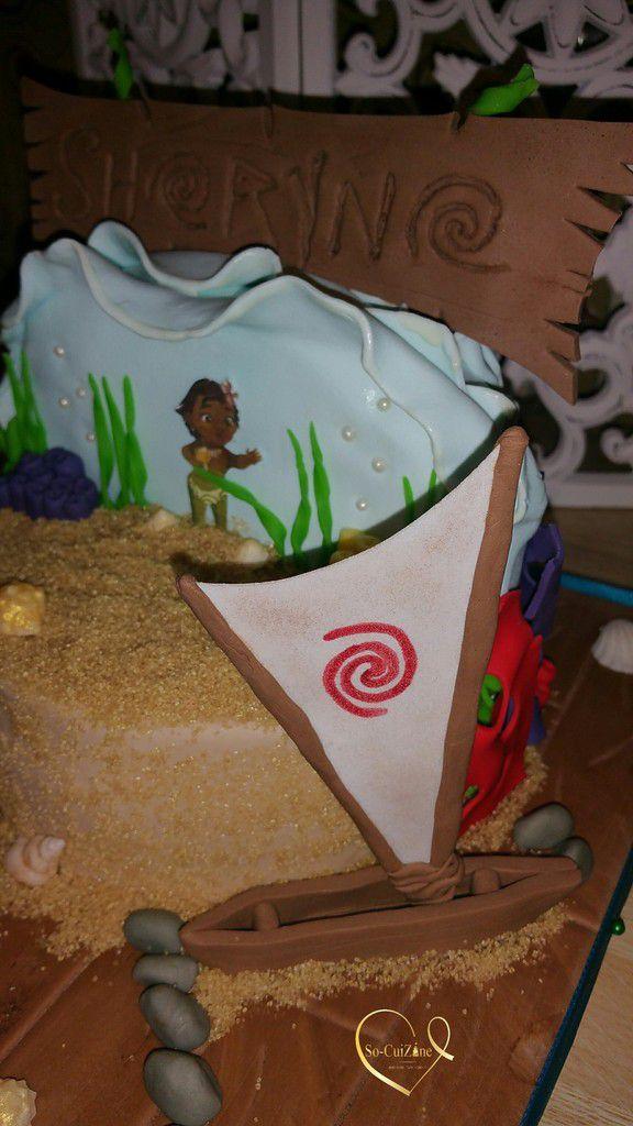 Moana Cake - Disney - Vaiana