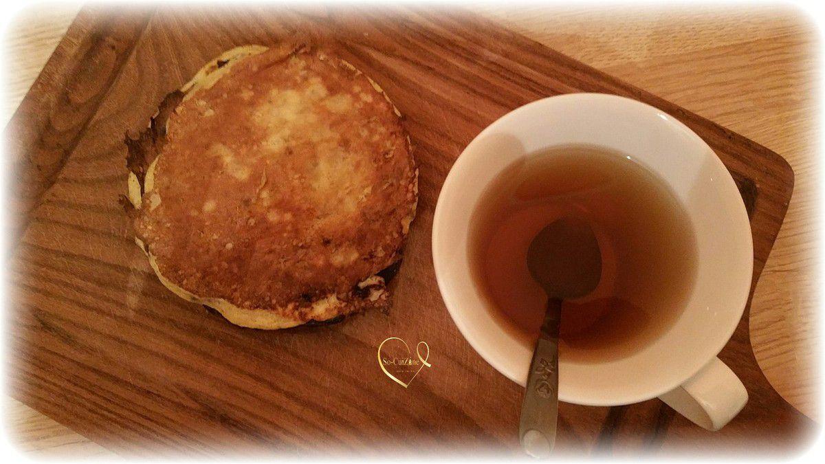 Pancake express à deux ingrédients sans gluten