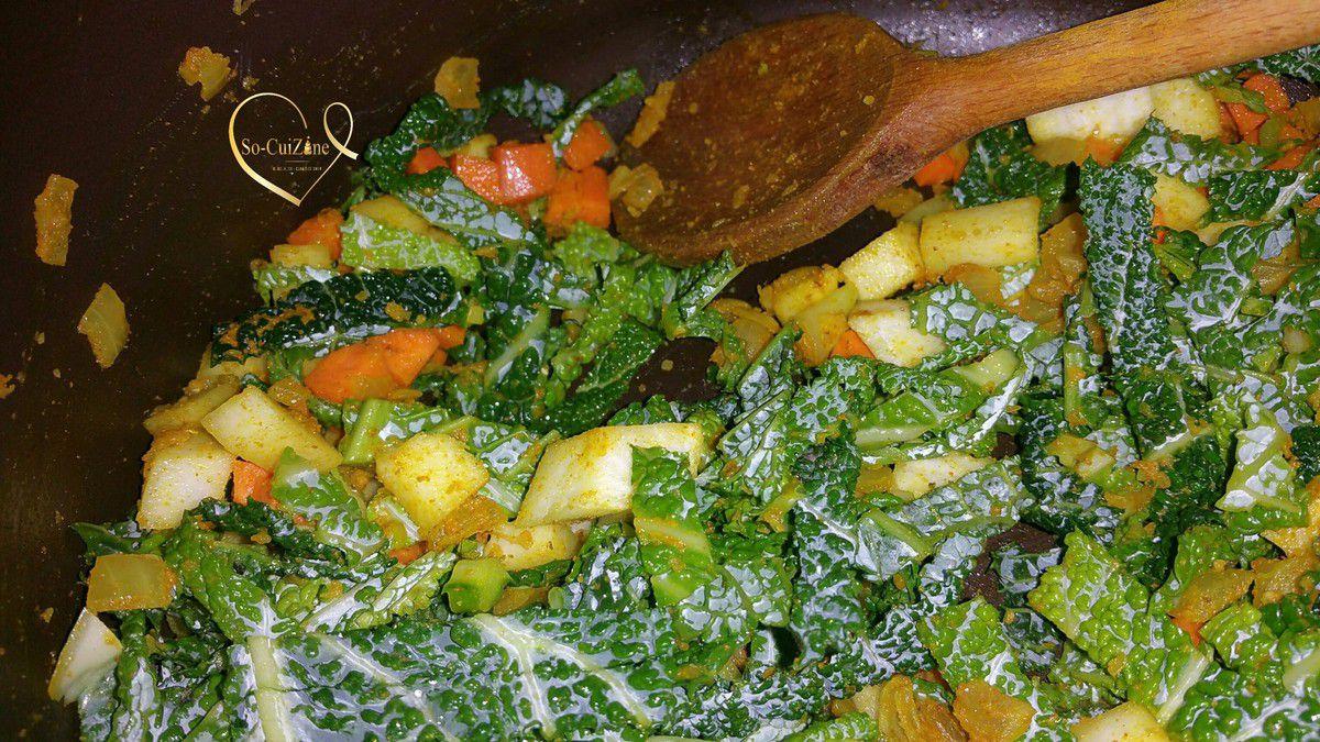 Soupe d'hiver aux légumes de saison