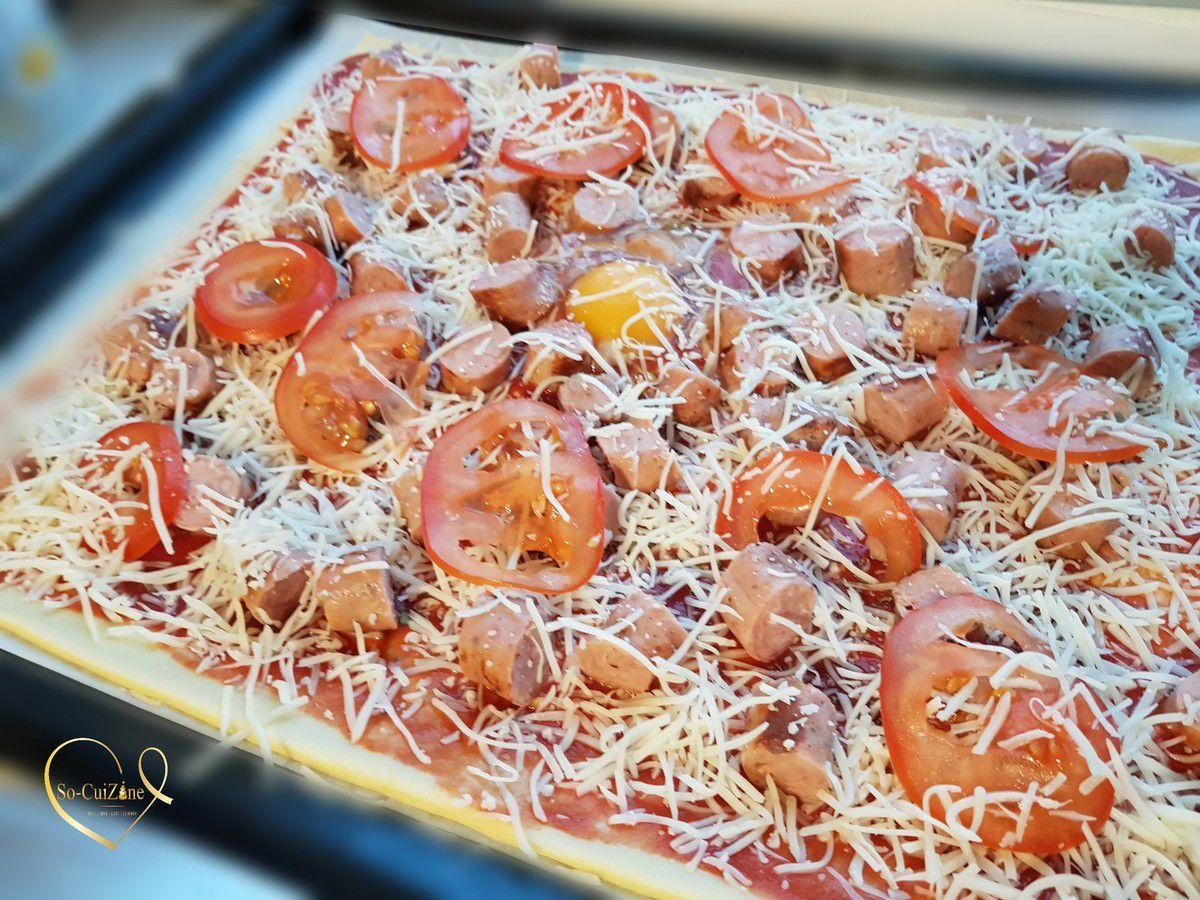 Pâte à Pizza Express (sans temps de repos)