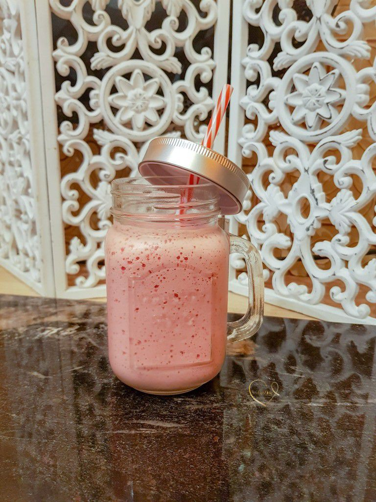 Smoothie Orange-Framboise-Cassis