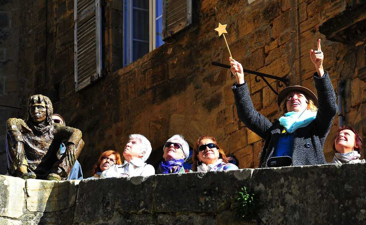 Guided Tour of Sarlat, perigordnoir, visite, dordogne, marie calonne