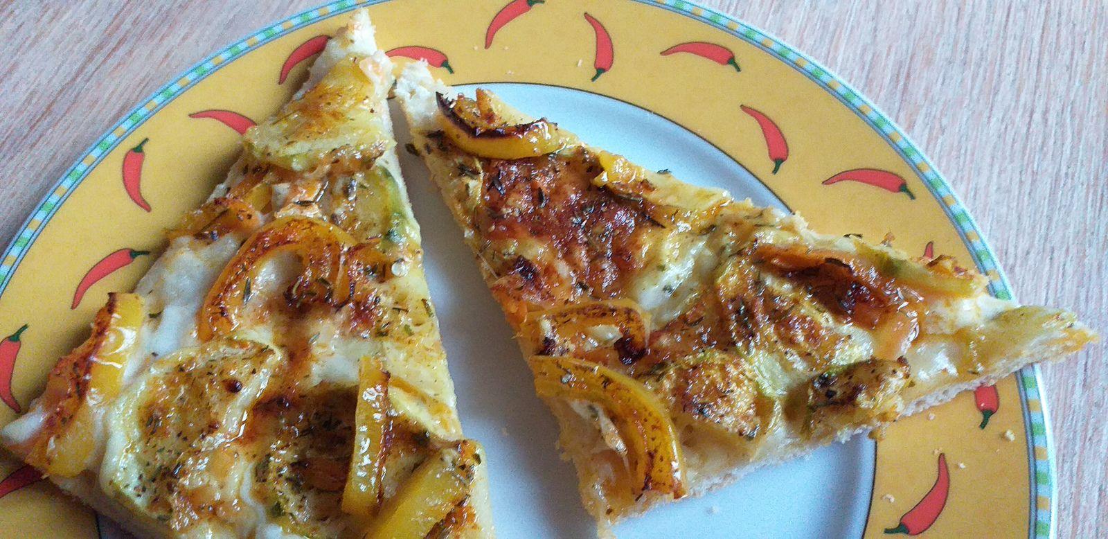 Flammkuchen vegetarisch oder vegan