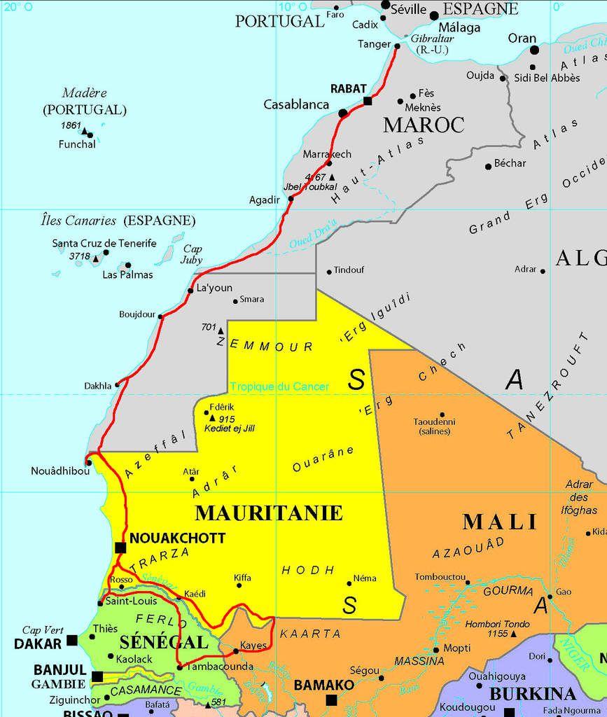Mauritanie (03) Mali