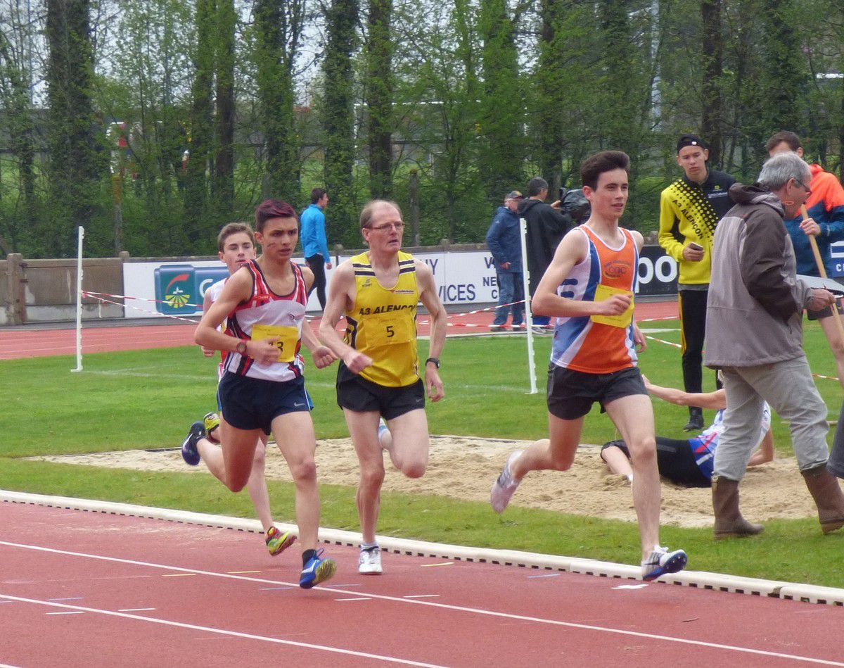 Reportage  photos 1er tour Interclubs Flers