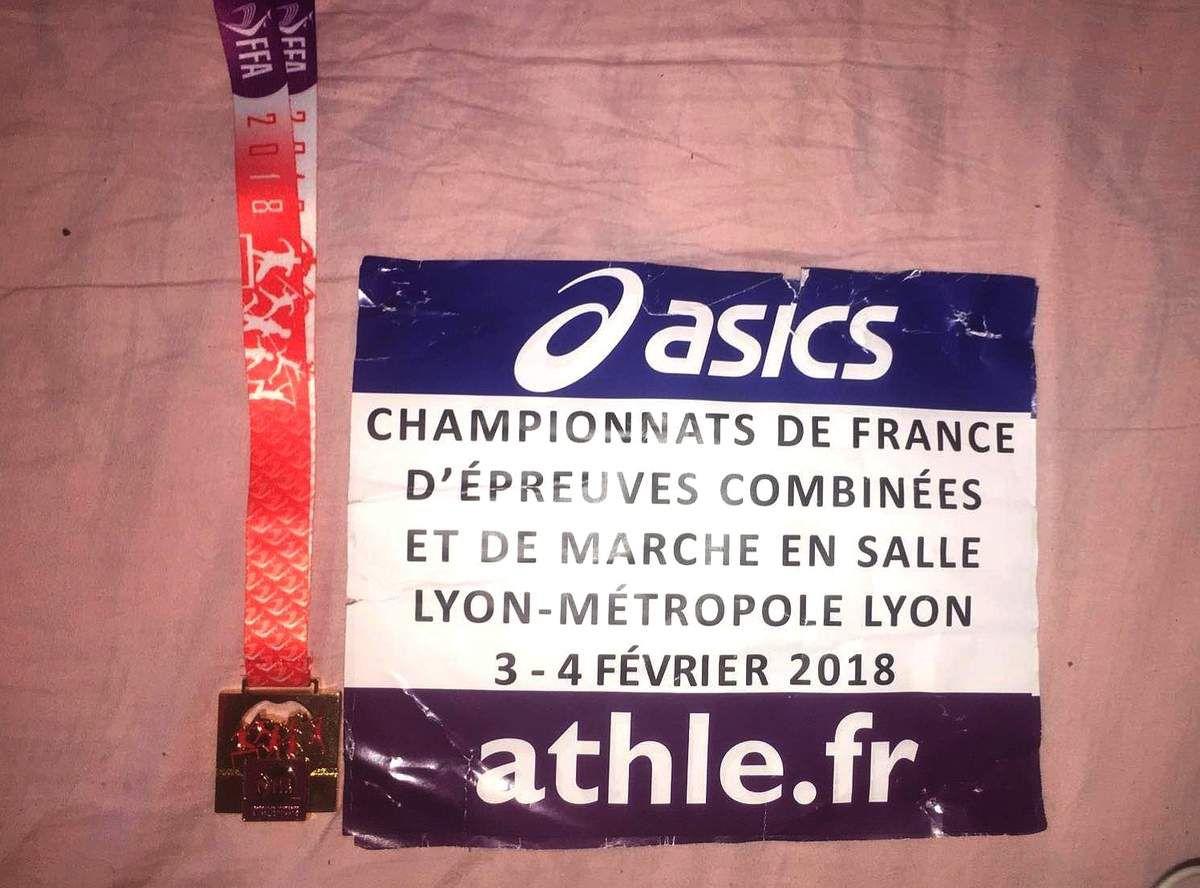 Championnat de France Epreuves Combinées CA/JU à Lyon / suivi live