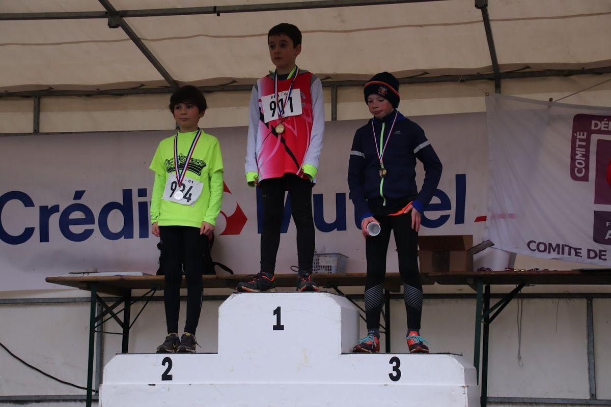 Championnats départementaux de cross-country : Photos S.Grosos et C.Olonde