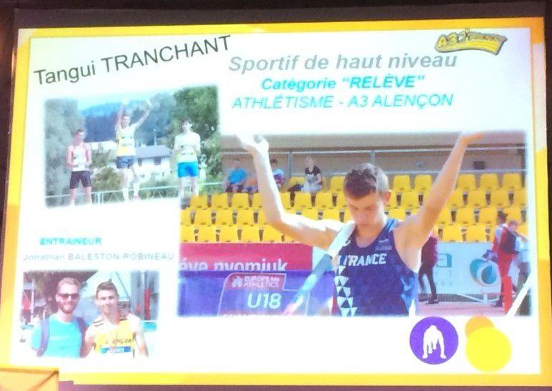 Tangui Tranchant double champion de France : la relève