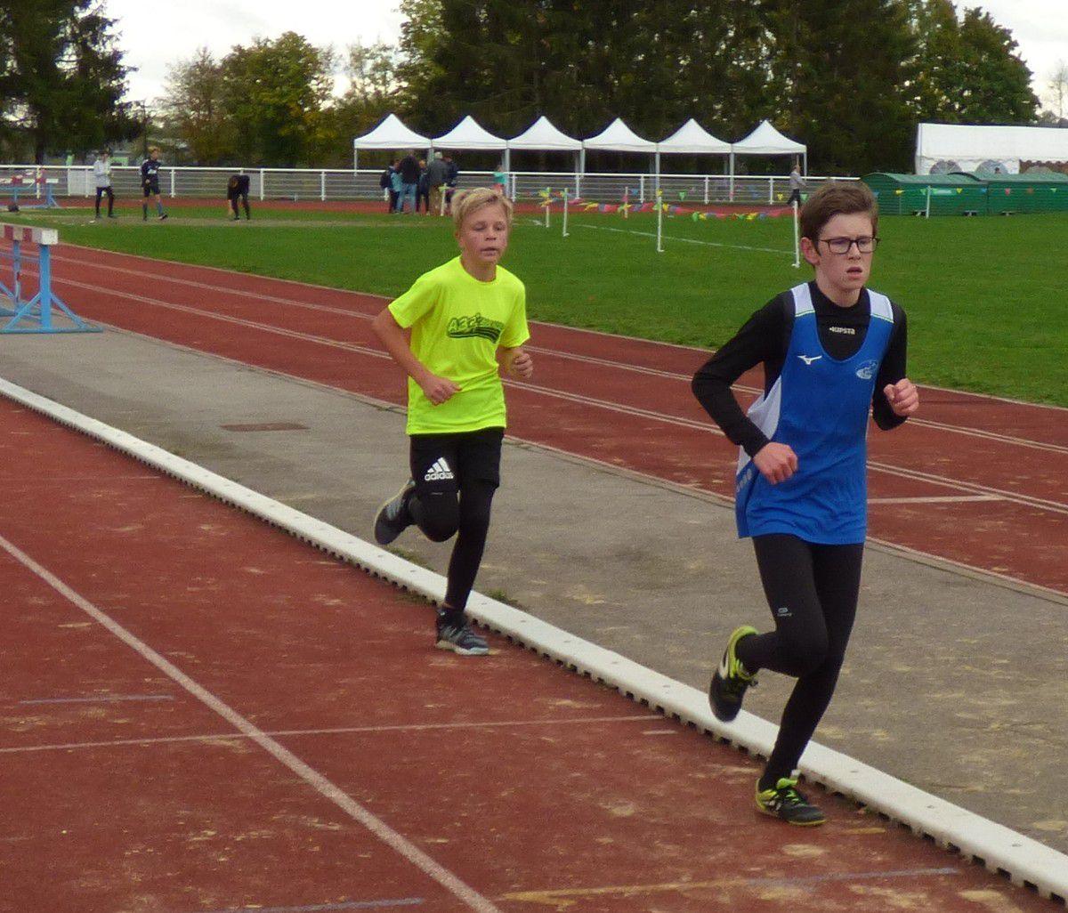 50 jeunes athlètes au triathlon de l'A3