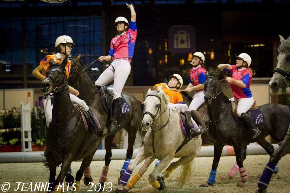 Finales de Horse ball à Cluny