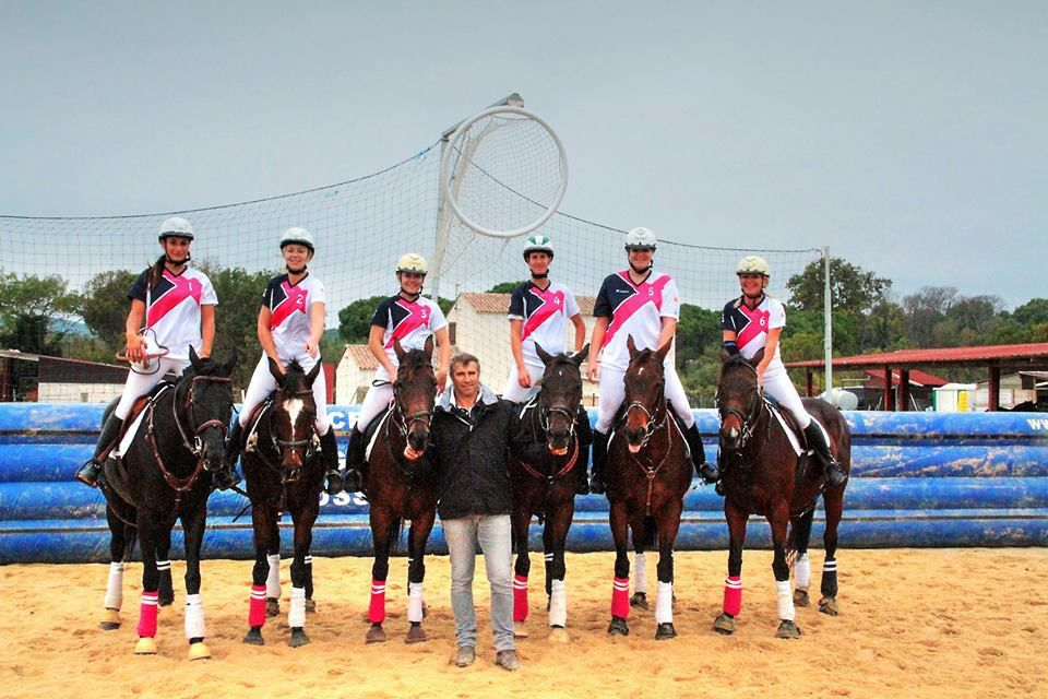 Horse ball avec Gildas LEFORT d'Avignon