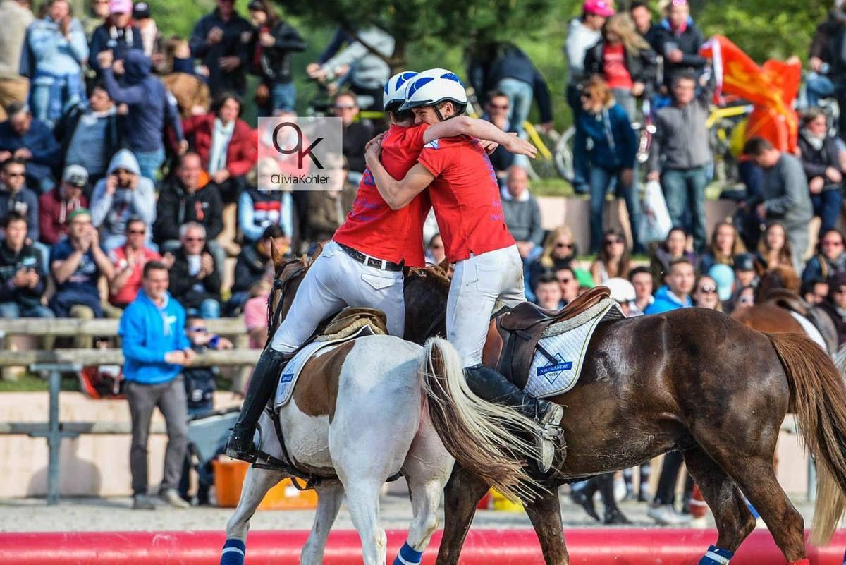 horse ball : Léo-Paul THEVENON, en Equipe de France