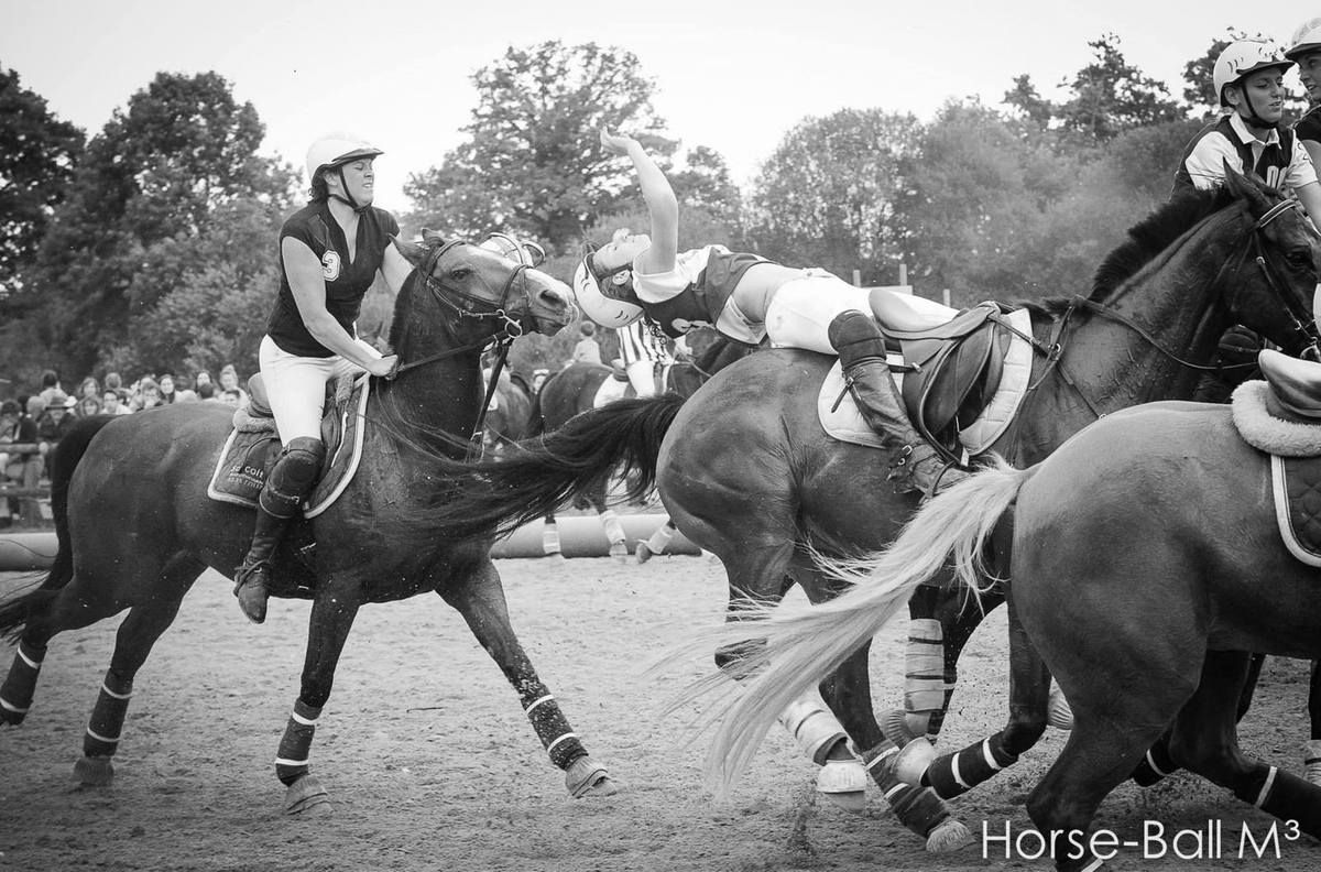 Horse Ball : Justine AMMANN de Chambly