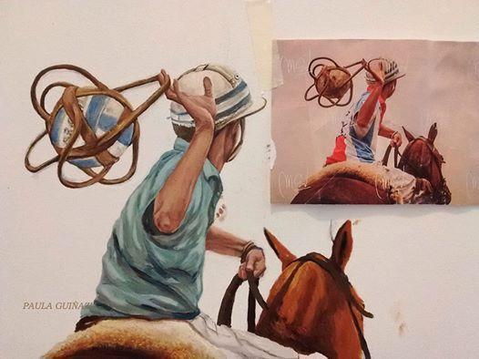 Paula Guinazu, artiste  d'Argentine