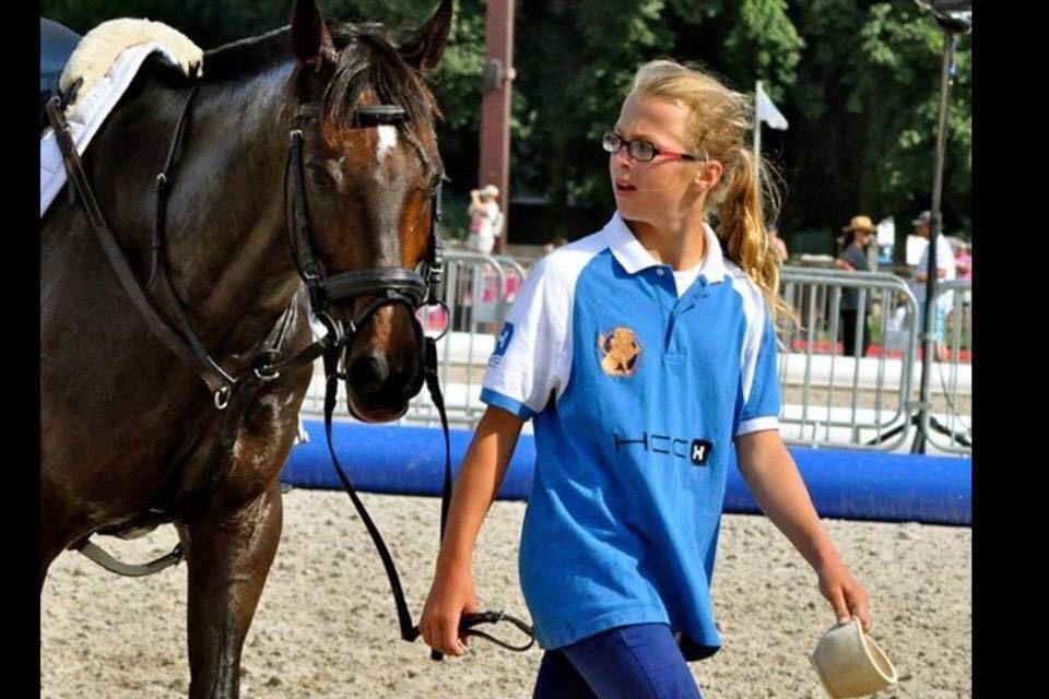 Thasia DUBOIS, horse balleuse hors pair