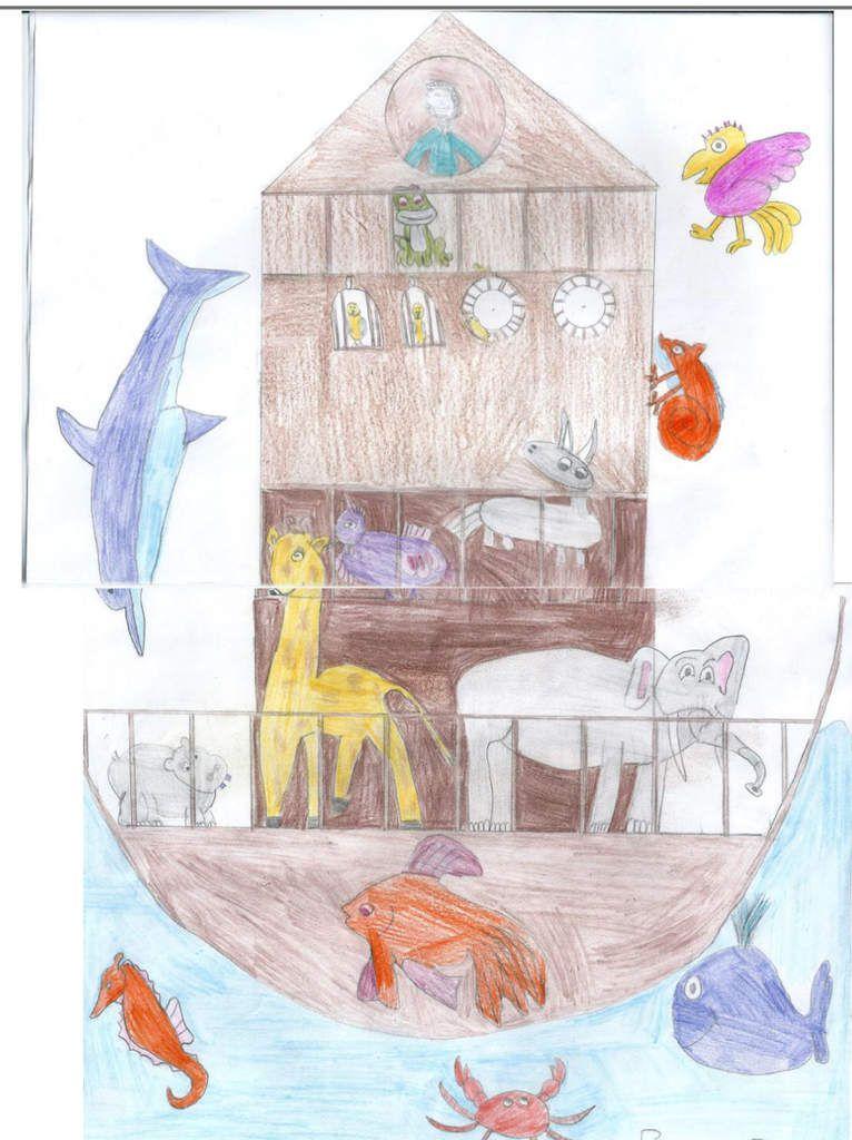 Noé face au déluge - Flore Talamon