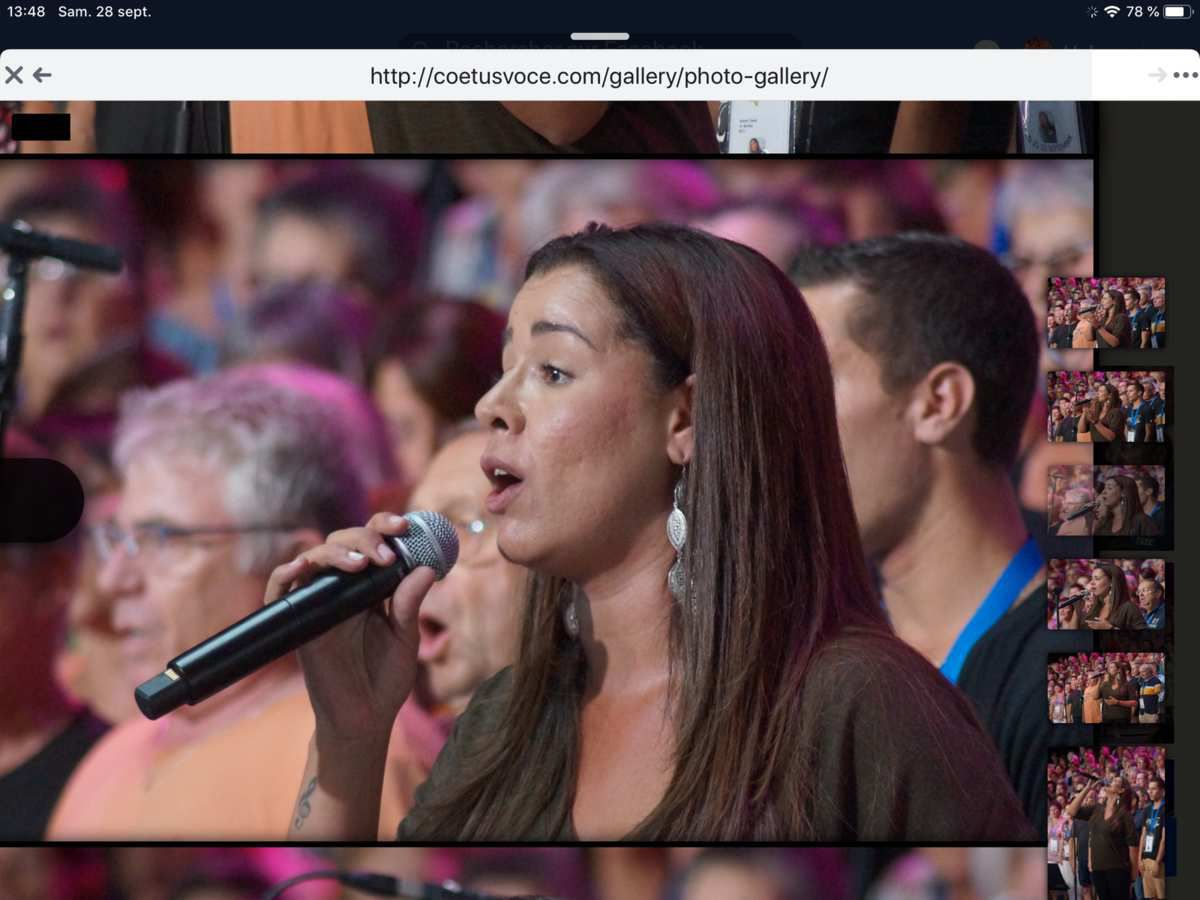 Chanter avec Chimène Badi