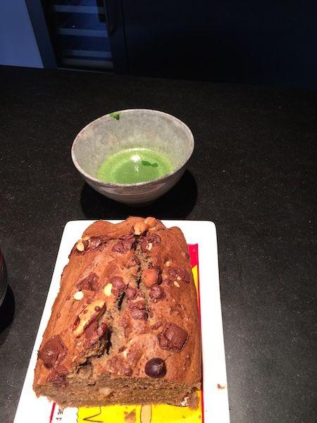 "le bananabred de ma copine Cathy du blog ""le Bon Jus"""