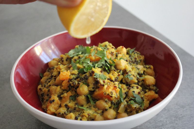One-Pan Dhal à la courge