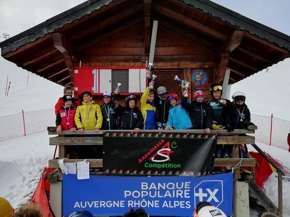 Nos U12 sur le podium de la coupe de Bronze district