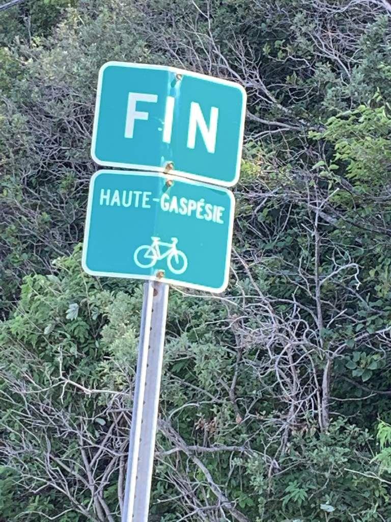 Fin de la route verte de ce côté...