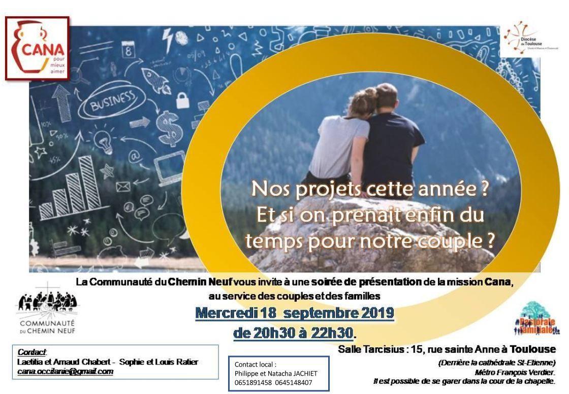 Rentrée CANA à Toulouse - le 18 septembre